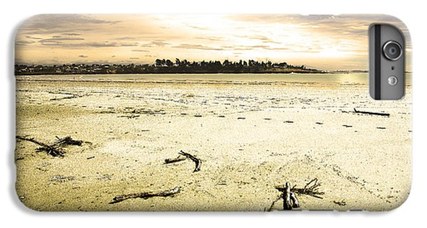 IPhone 7 Plus Case featuring the photograph At Caroline Bay Timaru New Zealand by Nareeta Martin
