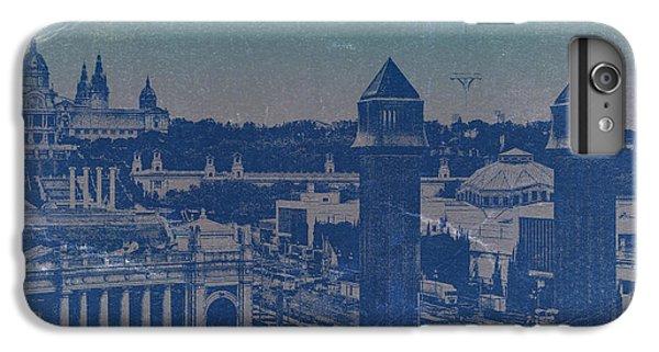 Barcelona iPhone 7 Plus Case - Barcelona by Naxart Studio