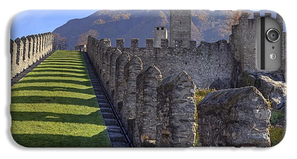 Bellinzona - Castelgrande IPhone 7 Plus Case by Joana Kruse