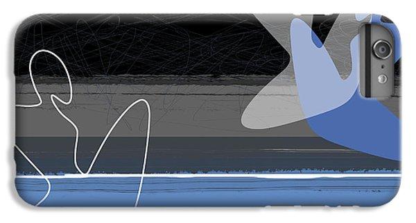 Figurative iPhone 7 Plus Case - Blue Girls by Naxart Studio