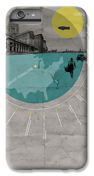 Grant Park iPhone 7 Plus Case - Chicago Poster by Naxart Studio