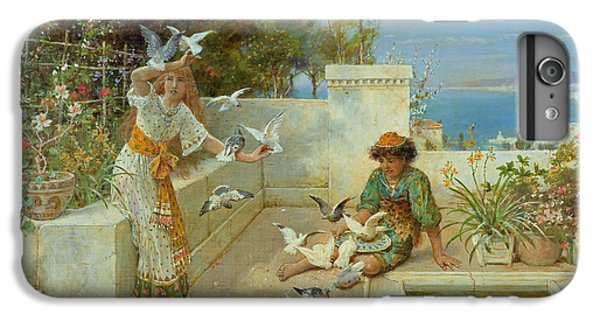 Children By The Mediterranean  IPhone 7 Plus Case by William Stephen Coleman