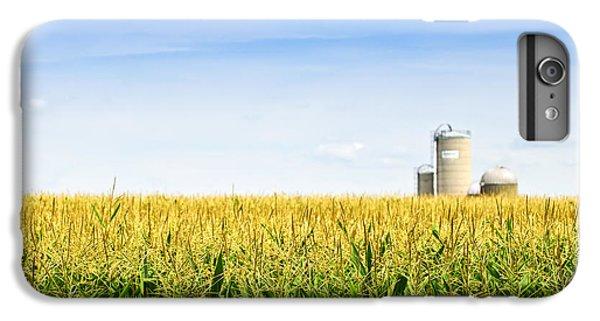 Corn Field With Silos IPhone 7 Plus Case by Elena Elisseeva