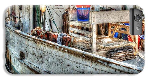 Shrimp Boats iPhone 7 Plus Case - Crimson Tide Deck by Michael Thomas