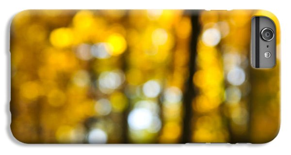 Fall Forest In Sunshine IPhone 7 Plus Case