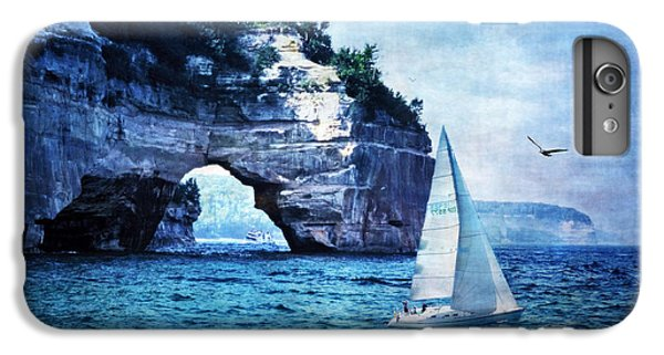 Lake Superior iPhone 7 Plus Case - First League Out From Land by Lianne Schneider