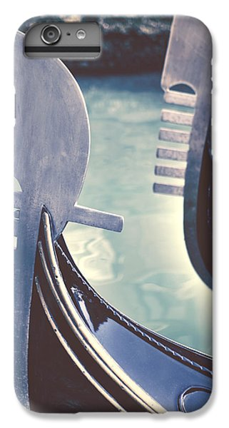 Boat iPhone 7 Plus Case - gondolas - Venice by Joana Kruse
