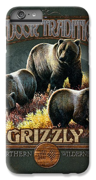 Grizzly Bear iPhone 7 Plus Case - Grizzly Traditions by JQ Licensing