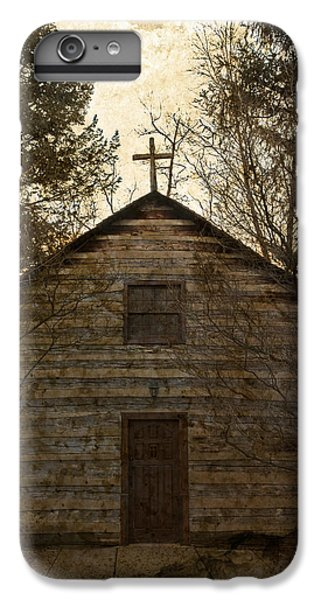 Grungy Hand Hewn Log Chapel IPhone 7 Plus Case by John Stephens