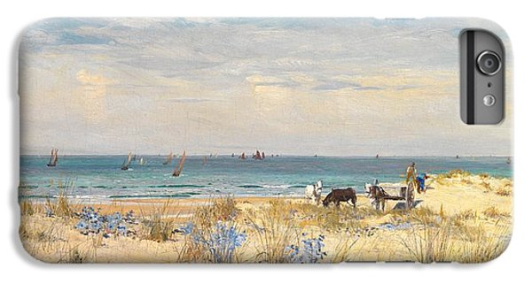 Boats iPhone 7 Plus Case - Harvesting The Land And The Sea by William Lionel Wyllie