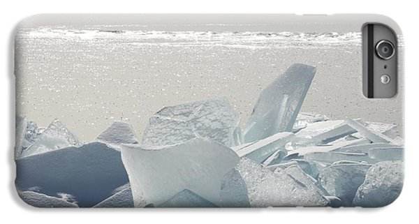 Lake Superior iPhone 7 Plus Case - Ice Chunks On The Shores Of Lake by Susan Dykstra