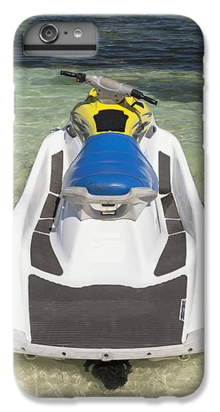 Jet Ski iPhone 7 Plus Case - Jet Ski In Shallow Water At The Waters by Bryan Mullennix