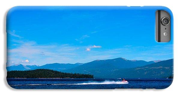 Jet Ski iPhone 7 Plus Case - Jet Ski On Priest Lake by David Patterson