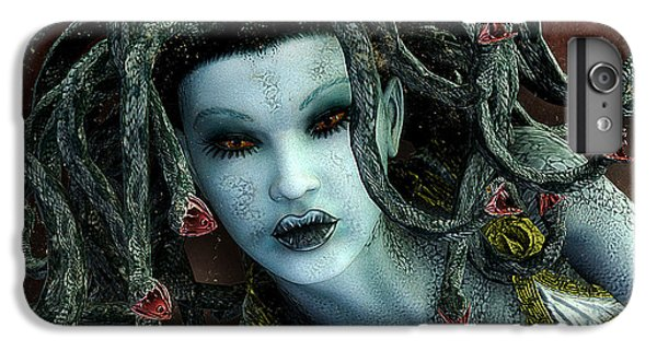 Gorgon iPhone 7 Plus Case - Medusa by Jutta Maria Pusl