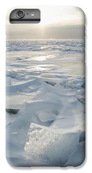 Lake Superior iPhone 7 Plus Case - Minnesota, United States Of America Ice by Susan Dykstra