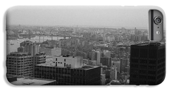 Chrysler Building iPhone 7 Plus Case - Nyc From The Top 2 by Naxart Studio
