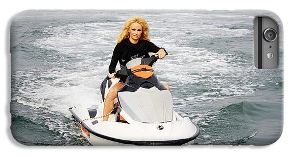 Jet Ski iPhone 7 Plus Case - Pamela Anderson Is A Jet Ski Vixen by Nina Prommer