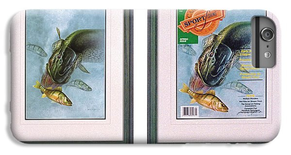 Pike Fishing Original And Magazine IPhone 7 Plus Case