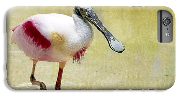 Spoonbill iPhone 7 Plus Case - Spoonbill  by Rebecca Cozart