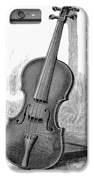 Violin iPhone 7 Plus Case - Stainer Violin by Granger