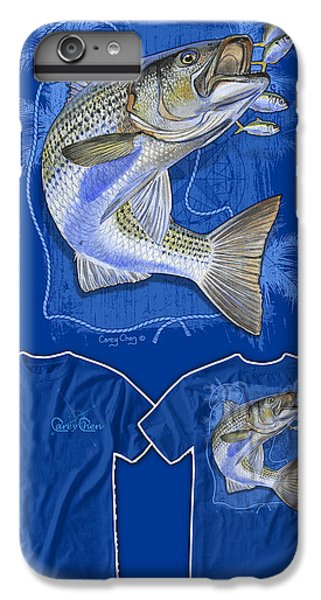 Shrimp Boats iPhone 7 Plus Case - Striper by Carey Chen