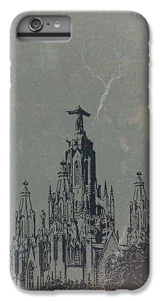 Barcelona iPhone 7 Plus Case - Temple Expiatory by Naxart Studio