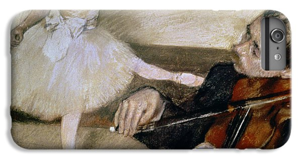 Violin iPhone 7 Plus Case - The Dance Lesson by Edgar Degas