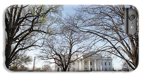 Whitehouse iPhone 7 Plus Case - The White House And Lawns by Neil Overy