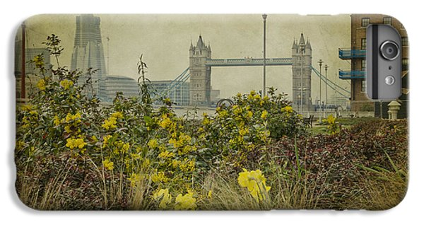 IPhone 7 Plus Case featuring the photograph Tower Bridge In Springtime. by Clare Bambers