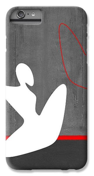 Figurative iPhone 7 Plus Case - White Girl by Naxart Studio