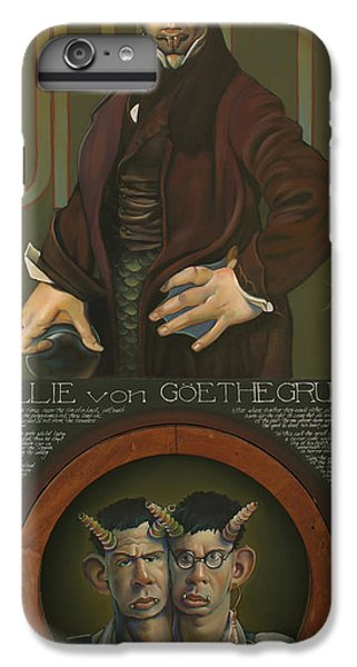 Willie Von Goethegrupf IPhone 7 Plus Case by Patrick Anthony Pierson