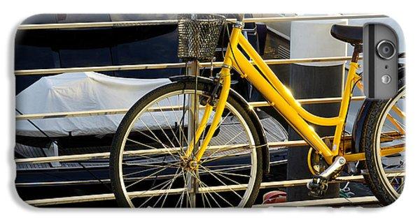 Jet Ski iPhone 7 Plus Case - Yellow Bicycle by Carlos Caetano