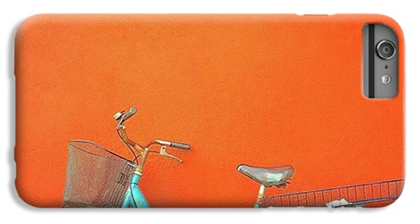 Blue Bike In Burano Italy IPhone 7 Plus Case by Anne Hilde Lystad