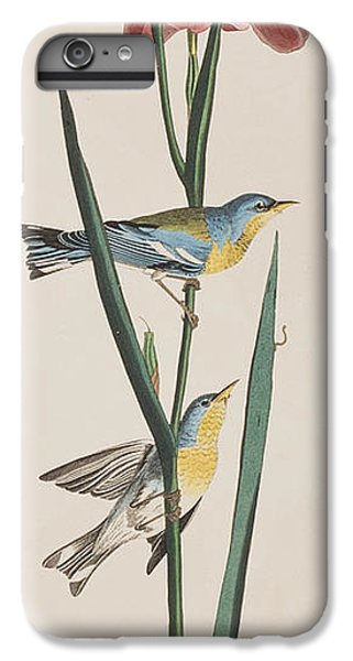 Blue Yellow-backed Warbler IPhone 7 Plus Case by John James Audubon