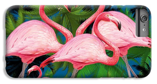 Flamingo IPhone 7 Plus Case by Mark Ashkenazi