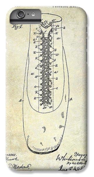 1896 Shoe Patent  IPhone 7 Plus Case by Jon Neidert