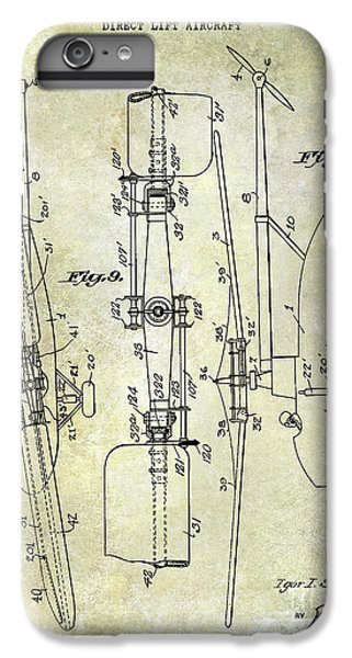 1935 Helicopter Patent  IPhone 7 Plus Case