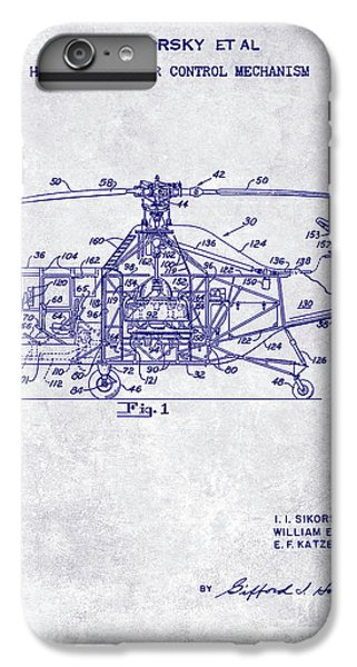 1950 Helicopter Patent IPhone 7 Plus Case