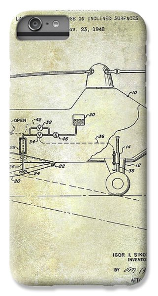 1953 Helicopter Patent IPhone 7 Plus Case by Jon Neidert