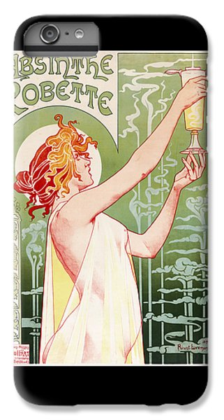 Absinthe Robette IPhone 7 Plus Case by Henri Privat-Livemont