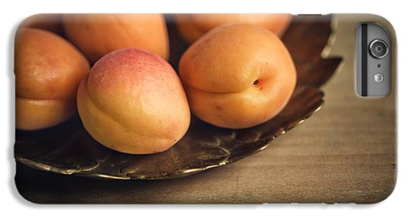 Orange iPhone 7 Plus Case - Apricots by Nailia Schwarz