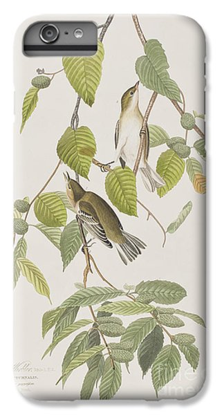 Autumnal Warbler IPhone 7 Plus Case by John James Audubon