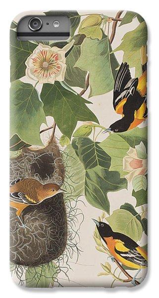 Oriole iPhone 7 Plus Case - Baltimore Oriole by John James Audubon
