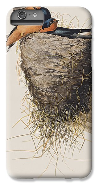 Swallow iPhone 7 Plus Case - Barn Swallow by John James Audubon