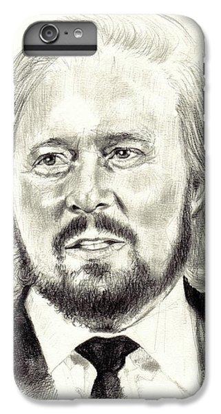 Eric Clapton iPhone 7 Plus Case - Barry Gibb Portrait by Suzann's Art