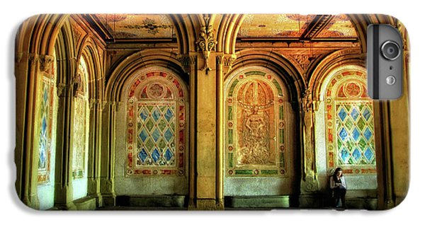 IPhone 7 Plus Case featuring the photograph Bethesda Terrace Arcade by Jessica Jenney