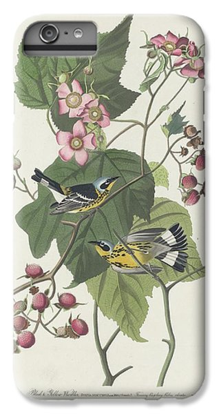 Black And Yellow Warbler IPhone 7 Plus Case by Dreyer Wildlife Print Collections