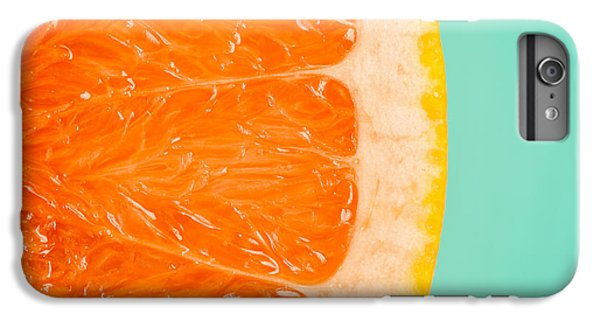 Blood Orange Slice Macro Details IPhone 7 Plus Case by Radu Bercan