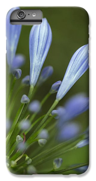 Onion iPhone 7 Plus Case - Blue Flowers by Nailia Schwarz