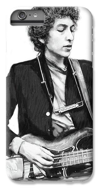 Bob Dylan Drawing Art Poster IPhone 7 Plus Case